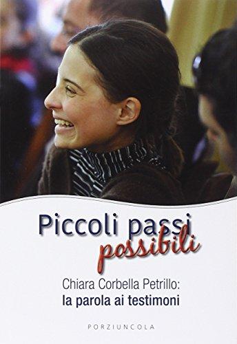 Piccoli passi possibili. Chiara Corbella Petrillo: la parola ai testimoni (Percorsi) por Aa.VV.