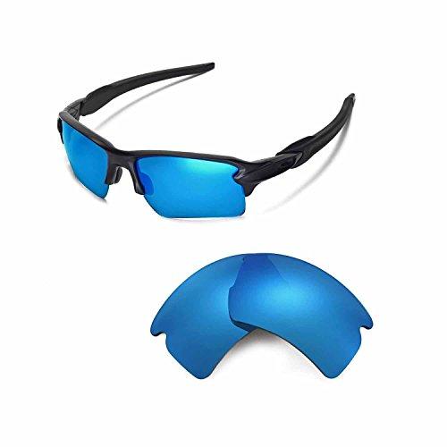 Walleva Sonnenbrille - Herren, Unisex - Erwachsene, Blu (Ghiaccio), Einheitsgröße
