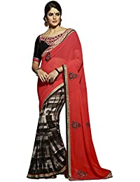 Bluewoman heavy embroidered sarees