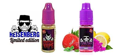 Vampire Vape Heisenberg & Pinkman - ohne Tabak & Nikotin - Nikotingehalt 0 % - Probierset 2 x 10 ml
