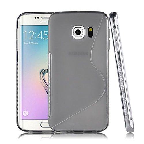 Samsung Schutzhülle transparent Tint schwarz Galaxy S6Edge Silikon Samsung Tint