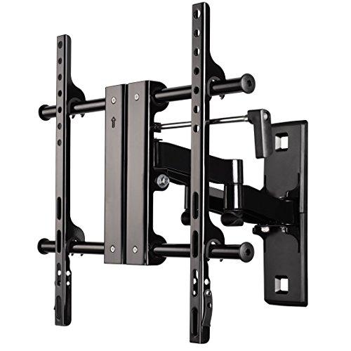 Hama TV Wandhalterung Fullmotion (vollbeweglich, für 81-127cm Diagonale (32-50 Zoll), max. 45 kg,VESA bis 400x400) schwarz (Full-motion Plasma Tv-wandhalterung)