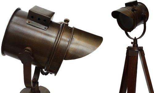 Lampadaire Motif : Vintage Design Trépied Searchlight Spot