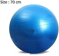 Anti-Burst Fitness Exercise Stability Yoga Ball / Swiss, Birthing, Gym Ball 70 Cm (Random Color)