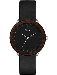 Mam Originals Stainless Steel Minimalist Analogue Black Dial Men's Watch_Sdm077