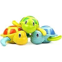 TOYMYTOY 3 Stück Baby Badespielzeug Schildkröte Kunststoff Badewanne Spielzeug preisvergleich bei kleinkindspielzeugpreise.eu