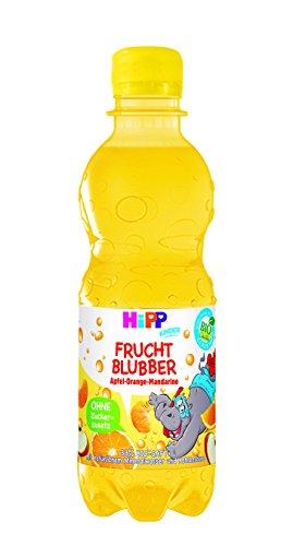 Hipp Kinder Getränk, Frucht-Blubber Apfel-Orange-Mandarine, 6er Pack (6 x 300 ml)