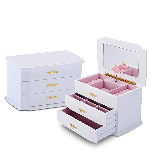 caja-de-musica-con-bailarina-para-nina-blanca-caja-joyero-almacenamiento-organizador