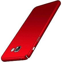Funda Samsung Galaxy A5 2016, Aostar Carcasa Ultra ligero sedoso pintura PC Funda protectora de teléfono Protective Case Cover para Samsung Galaxy A5 2016 (rojo)