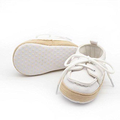 SUCES Babyschuhe Lauflernschuhe Leinwand Anti Rutsch Weiche Schuhe Sneaker Säugling Junge Mädchen Kleinkind Schuhe Freizeitschuhe Sneaker Krippenschuhe