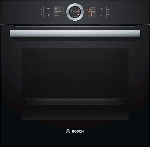 Bosch HBG676EB6 Serie 8 Backofen Elektro  / A+ / 71 L / Großflächen-/Kleinflächengrill / Pizzastufe / PerfectRoast & PerfectBake / HomeConnect /  schwarz