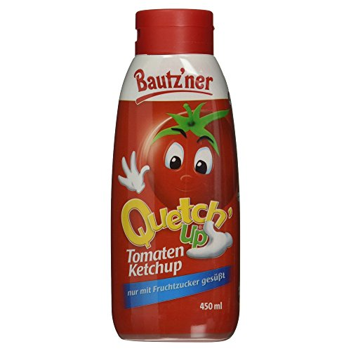 BAUTZ\'NER Quetch\'Up Tomaten Ketchup, 450 ml