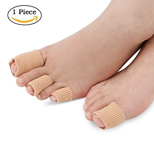 SOUMITProtector de dedos/dedos de los pies S (15CM) - Especialmente Diseñado para Callos, Hallux Valgus, la Garra del Dedo del Pie, Dedo Martillo, Callos, Paroniquia, Ampolla y Frotar los Pies