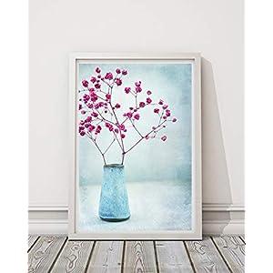 Foto Kunstdruck Print A4 Flower Schleierkraut