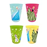 Frozen Set 4 Vasos plastico (Suncity RNA101507)