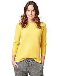 tom tailor pullover gelb damen