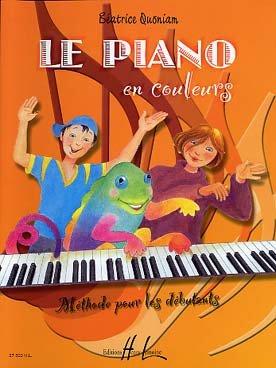 Le piano en couleurs : Méthode pour les débutants