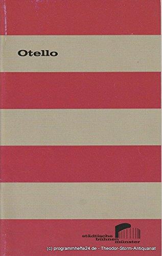 Programmheft OTELLO Dramma lirico von Giuseppe Verdi. Premiere 3. September 2005, Großes Haus