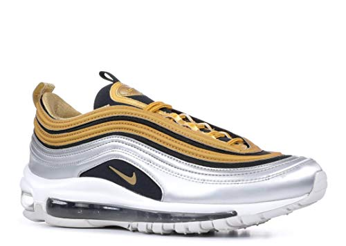 official photos c53d2 2c846 Nike W Air Max 97 Se Chaussures de Running Femme, Multicolore Metallic Gold  700,
