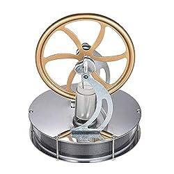 LIANA IRIWN Niedriger Temperatur Stirlingmotor Pädagogisches Spielzeug Kit Forschen & Entdecken Physik Experimentierkästen