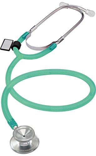 MDF® leichtes Zweikopf-Stethoskop - Grün-lichtdurchlässig (MDF747-IAN)