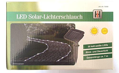 Solar-Lichterschlauch m.50 LED