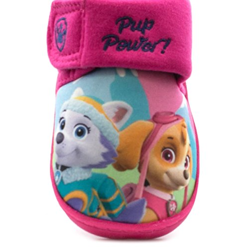 Paw Patrol , Chaussons pour fille Rose