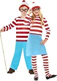 Fancy Me - Costume Waldo Garçon Fille Where's Wally Où est Charlie ? Déguisement 4-12 Ans - 4-6 Ans, Garçon
