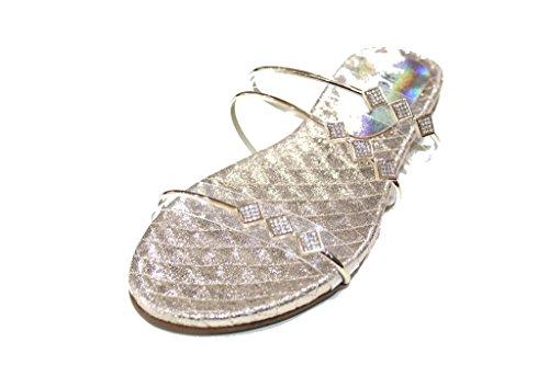 Wear & Walk UK , Sandales pour femme 42 Doré