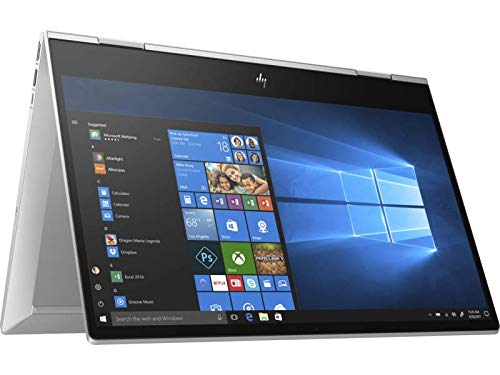 "Foto HP Envy x360 15-dr0008nl Notebook Convertibile, Core i5-8265U, 8 GB di RAM, SSD da 512, Display 15.6"" Touchscreen FHD antiriflesso IPS, Argento"
