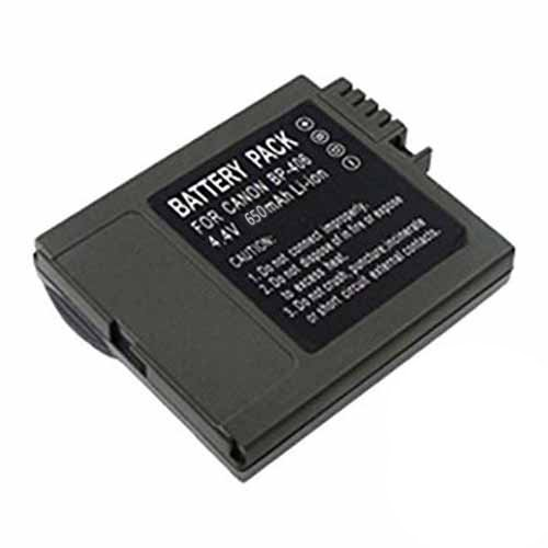 Amsahr Digital Replacement Camera and Camcorder Battery for Canon BP-406, BP-407, BP-412