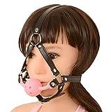 JOJO STYLE Sexy transpirable caballo-tipo silicona boca bola Plug...