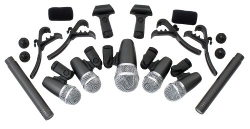 Pronomic DMS-7 Drum Schlagzeugmikrofonset (Mikrofon-schlagzeug-set)