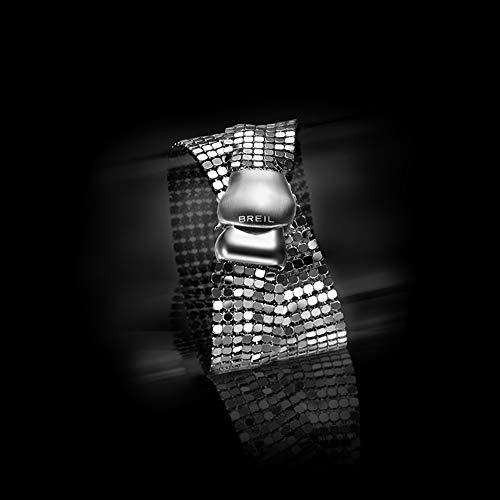 Breil tj1227, braccialetto da donna, in acciaio inox, 34cm