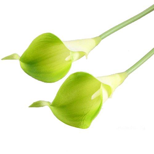ROSENICE Calla Kunstblume Deko Künstliche Blumen Kunstpflanze Blumenstrauß - 10 Stücke - 4