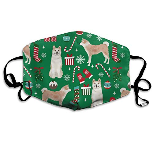 ke, für Hunderassen, Weihnachtsgeschenke, Süßigkeiten, Schneeflocken, Grün ()
