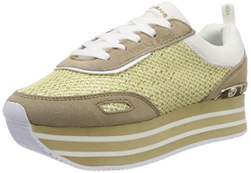 Versace Jeans EE0VRBSB2_E70022, Zapatillas para Mujer, Dorado (Oro Rosa E925), 38 EU