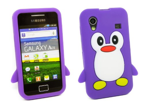 kit-me-out-es-funda-silicona-para-samsung-galaxy-ace-s5830-violeta-blanco-pinguino