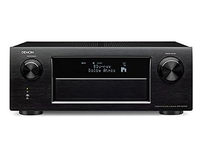 Denon AVR-X5200W Sintoamplificatore ad alta Potenza, Microfono di Taratura con Telecomando e Cavalletto per Microfono, Nero in offerta su Polaris Audio Hi Fi