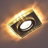 LED Strahler Spot Deckenlampe Prater eckig mit 4 Leuchtringen 2x4,5W 36cm Design R82502106