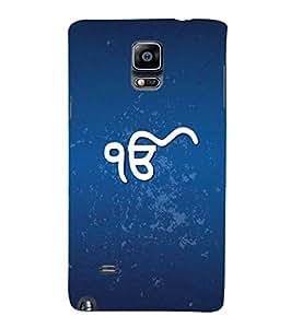 YuBingo Samsung Galaxy Note 4 :: Samsung Galaxy Note 4 N910G :: Samsung Galaxy Note 4 N910F N910K/N910L/N910S N910C N910Fd N910Fq N910H N910G N910U N910W8 Designer Phone Back Case Cover ( Ik Onkar )