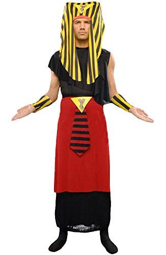 Ägyptische Kostüm Erwachsener Faraon Größe Unica