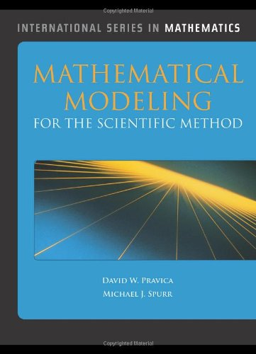 Mathematical Modeling For The (International Series in Mathematics)