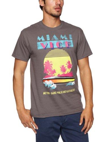 Trademark Herren T-Shirts Grau - Grey
