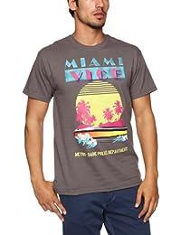 Trademark Miami Vice Metro Dade Police Printed Men's Tee