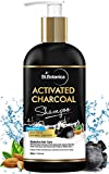 StBotanica Activated Charcoal Hair Shampoo, 300ml - No SLS/Sulphate, Paraben or Silicon