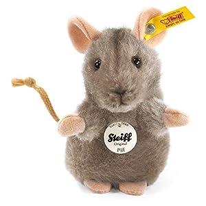 Steiff 56222 - Peluche de ratón color gris de 10 cm Importado de Alemania
