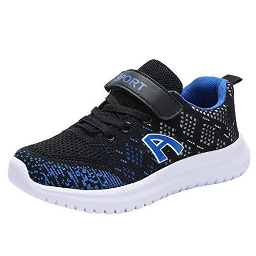 UOMOGO Scarpe Sportive Bambini e Ragazzi Scarpe da Corsa Ginnastica Respirabile Mesh Running Sneakers Fitness Casual
