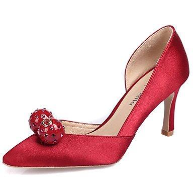 Zormey Frauen Heels Fr¨¹hling Herbst Club Schuhe Seide Hochzeit B¨¹ro & Amp Karriere Party & Amp Abendkleid Stiletto Heel Strass Crystal US9 / EU40 / UK7 / CN41