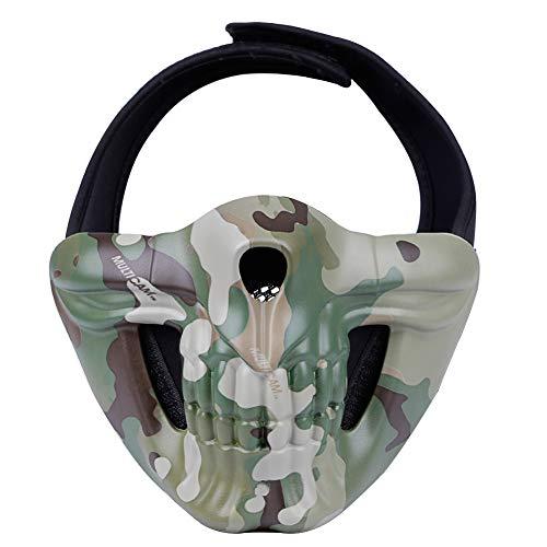 TZTED Taktischer Totenkopf Schutz Masken Für Airsoft Paintball CS Krieg Spiel BB Gun Cool Scary Ghost Halloween Party Maske,C